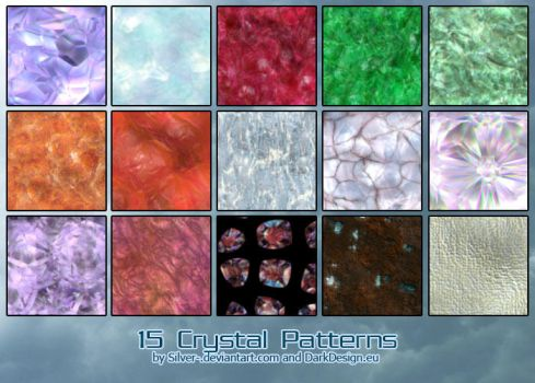 Crystal Patterns by silver-