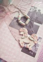 Marshmallow pony necklace III by Nika-N