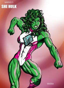 She Hulks Punch by lenlenlen1