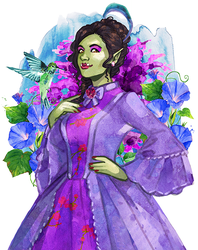 Commission: Lady Jade Breaudeux by Acaciathorn