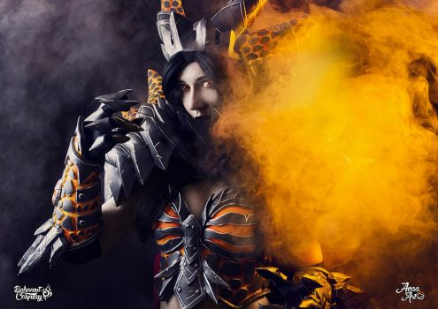 Deathwing cosplay ! by Bahamut95