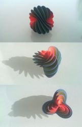 Spiral Fan 3D print by llewelld
