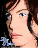 Liv Tyler in vector by TraceLandVectorie03