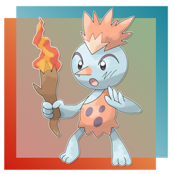 Frostorch, Discovery Fakemon by FakeMakeT