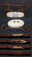 Special Wand No. 15 ''The Stag'' - Details by SRG-Wands