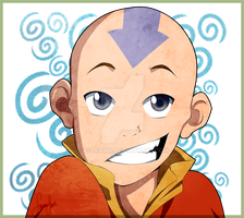Avatar Aang by AsaRawr