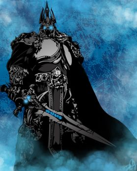 Wrath of the Lich King by DCGray