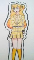 Yellow Highligter Heather Mcnamara by Too-many-fandoms25