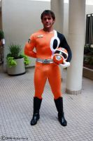 Orange Power Ranger 1 by Insane-Pencil