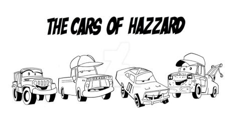 the cars of hazzard by wonderfully-twisted