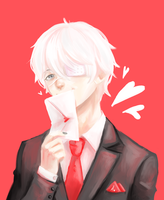 Tokyo Ghoul: Happy Valentine's Day by Morisaurus
