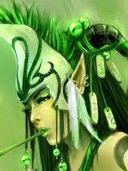 Forest Elf - close up by aditya777