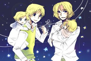 The Blond Family APH by jinyjin