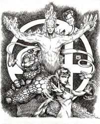 The Fantastic Four by golfboysunday