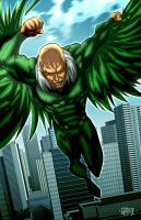 Vulture by johnnymorbius