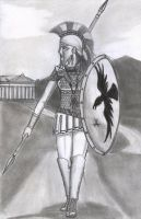 Warriors 1 - Greek Hoplite by Gwaylar