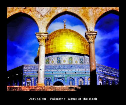 BahaaAlbzoor 15 7 Jerusalem Dome Of The Rock4 By Palestine Club
