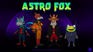 Astro Fox by AnutDraws
