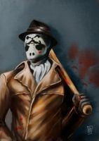 Watchmen's Rorschach by N8watcher