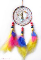 Mermaid Dreamcatcher by EmilyCammisa