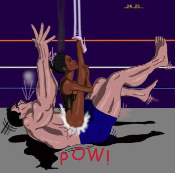 Mixed Wrestling Deathmatch 5 by gandalfi2011