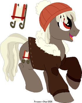 [Design Trade] - Toby Toboggan by Frozen--Star
