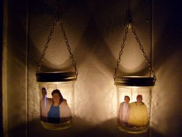 Candle photo jar by caspercrafts