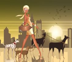 city_girl by ghassan747