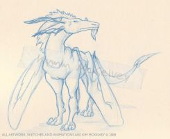 dragon horse thing by ducttapequeen