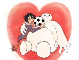 Baymax And Hiro! by Zuzmy