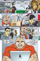 The Redeemers #4 - page 1 by wheretheresawil