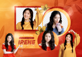 PNG PACK: Irene #1 by Hallyumi