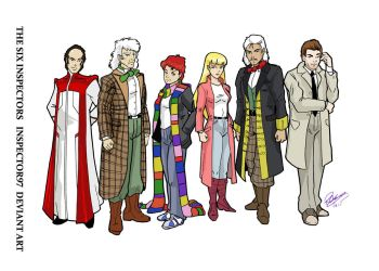 The Six Inspectors by Inspector97