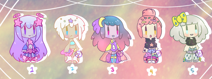 Star girl adopts [CLOSED] by hello-planet-chan