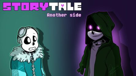 COM// Storytale: Another side by Scriblotixsketchex