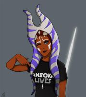 Ahsoka lives! by SirinAnari
