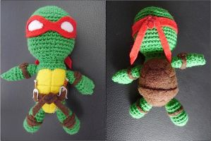 Crocheted Raph by pcanjjaxdcd