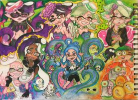 Splatoon 2 by Frozelewis