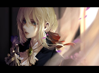 Violet Evergarden by dishwasher1910