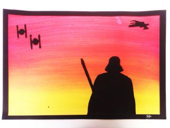 Sith Lord Silhouette by CARPEBRI