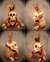 Skull Bunnies by dreggs88