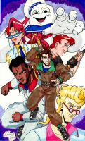 Real Ghostbusters Color 01 by Irie-mangastudios