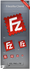 Icon Filezilla Client by ncrow