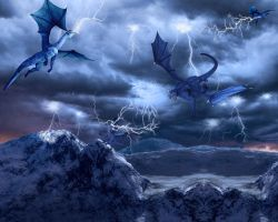 The Fury of the Storm by ForeverBigBlue68