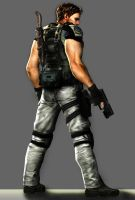 Chris Redfield BSAA by toughraid3r37890