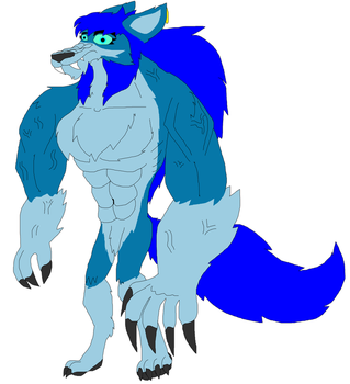 My New Werewolf Second Form by Perithefox10