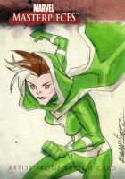 ROGUE SKETCH CARD by RM73