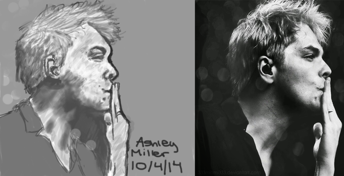 Gerard Way by fall-out-gurl