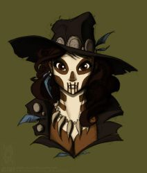 Voodoo Lady - Colour by jollyjack