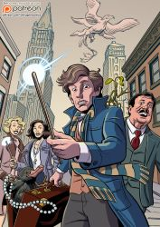 Fantastic Beasts and Where to Find Them by mistermuck